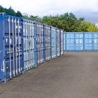 Metal container storage